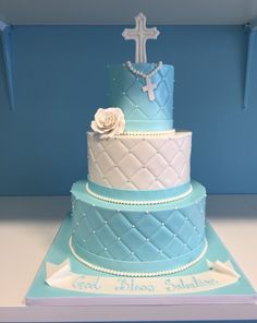 boy first communion cake - Google Search