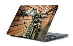 Naklejka na laptopa - Stary rower 4663