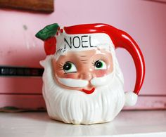Vintage Santa Claus Noel Creamer by kitschparade on Etsy, $18.00