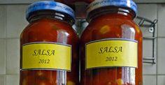 Salsa Jar, Food, Essen, Meals, Yemek, Jars, Eten, Glass