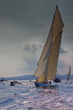 Lost in America - redhousecanada: Light air, full sails. Lost In America, Classic Sailing, Full Sail, Yacht Boat, Sail Away, Set Sail, Wooden Boats, Tall Ships, Water Crafts