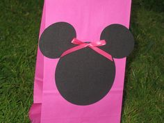 Minnie Mouse Birthday Party Treat Bags in Red!