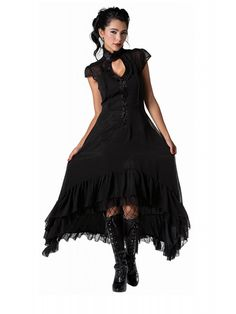 We have the perfect dresses to give you that classic Rockabilly, Punk Rock or Gothic glam. Gothic Gowns, Gothic Outfits, Gothic Clothing, Gothic Jewelry, Unique Jewelry, Steampunk Clothing, Boho Jewelry, Jewelry Ideas, Fine Jewelry