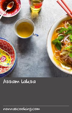 """Assam laksa 