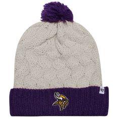 876b5d60af9  47 Brand Minnesota Vikings Ladies Matterhorn Cuffed Knit Beanie… Viking  Clothing