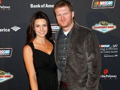 Dale Earnhardt Jr. and girlfriend Amy Reimann attend the NASCAR Evening Series at Charlie Palmer Steak, part of the Champion's Week events that mark the end of the season.