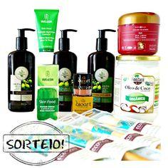 Kit de cosméticos naturais e orgânicos
