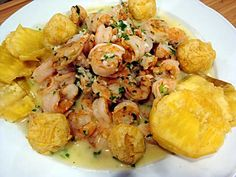 Cocina a lo Boricua: Camarones al ajillo Puerto Rican Dishes, Puerto Rican Cuisine, Puerto Rican Recipes, Cuban Recipes, Seafood Recipes, Italian Recipes, Dinner Recipes, Cooking Recipes, Boricua Recipes