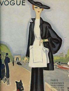Paris Vogue 1934