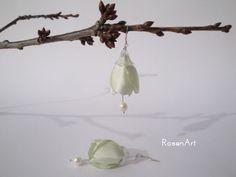 Ohrringe Blütenform von RosenArt auf DaWanda.com