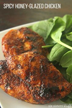 Spicy Honey-Glazed Chicken – Six Sisters' Stuff
