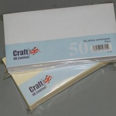 Craft UK UK Envelopes White DL