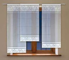 #Panel_okienny żakardowy Dekoracyjny urok tego panelu jest wynikiem ciekawego połączenia modernistycznej prostoty wraz z charakterem tradycyjnych haftowanych tkanin. Do tego ostatniego nawiązują naturalistyczne motywy gałązek o drobnych listkach w górnej i dolnej partii. Ten panel okienny żakardowy spodoba się nie tylko zakochanym w stylizacji retro. kasandra.com.pl