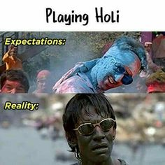 Valentine's Day 2020 : Happy Holi Memes – Happy Holi Funny Memes – Happy Holi Memes 2020 - Quotes Time Funny Minion Memes, Funny Jokes In Hindi, Funny School Jokes, Some Funny Jokes, Really Funny Memes, Funny Qoutes, Crazy Funny Memes, Funny Puns, Funny Relatable Memes