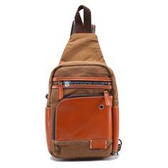 $55.99 Small Sling Bag For MenSling Bags Backpacks