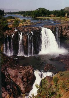 Tissisat Falls, Ethiopia | Africa Places To Travel, Places To See, Grain Of Sand, Naturally Beautiful, Greatest Hits, Dream Vacations, Waterfalls, Rivers, Beautiful World
