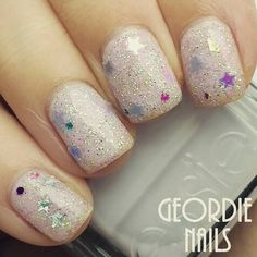 This stunning unicorn nail glitter is exclusive to Charlie's nail art features a mixture of beautiful glitter shapes. only 75p for 4 grams worldwide shipping #nailart #nails #nailswag #nailstagram #nailedit #nailsoftheday #nails2inspire #glitter #glitternails #nailideas