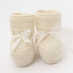 Baby Booties / Knitting Pattern Baby English par LittleFrenchKnits