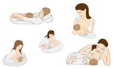 Quanto conosci realmente le posizioni dell'allattamento?