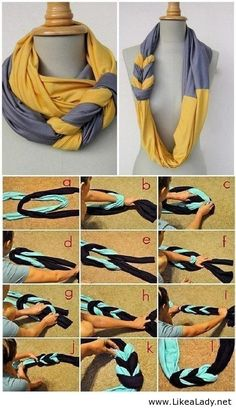 Double Scarf DIY Project