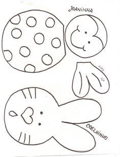 Lieveheersbeestje en konijn
