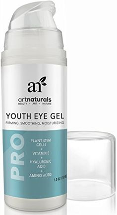 ArtNaturals - The Best Eye Wrinkle Cream / Gel 1 oz, 100% Natural, Ageless Looking Skin, Good For Dark Circles, Puffiness, Fine Lines - From Organic Aloe, Hyaluronic Acid & More - For Men & Women | Amazon Hot Sales