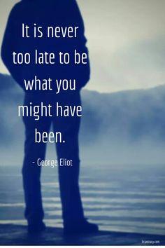 Tomorrow is always a new beginning..