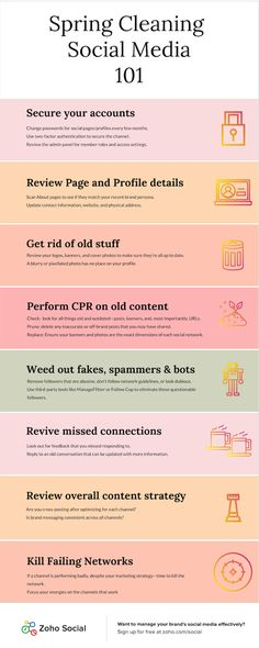 8 Steps to Instantly Boost Your Uninspiring Social Media Strategy [Infographic] Social Media Company, Social Media Marketing, Social Networks, Digital Marketing, Spring Social, Google Plus, Internet Marketing Company, Spring Cleaning, Deep Cleaning