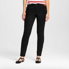 Women's Skinny Chino Pant - Merona Black 14, Ebony