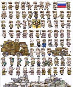 Soldados del Mundo - Dibujos - Taringa!