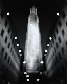 Rockefeller Center 2001 by Hiroshi Sugimoto Street Photography, Landscape Photography, Photography Ideas, Exposure Photography, Hiroshi Sugimoto, New York Architecture, Alfred Stieglitz, Contemporary Photography, Japanese Photography
