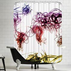 """""""MAP Shower Curtain""""  WAYFAIR"""