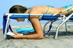 This Reading Beach Chair http://everymomneeds.com/reading-beach-chair/