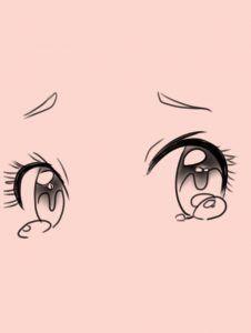 Como Dibujar Ojos Anime Dibujar Ojos De Anime Dibujos De Ojos