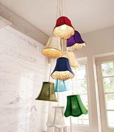 Ausgefallene Deckenleuchten von Gingar * Ideen zur Beleuchtung * Bunte Lampen