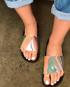 "🐥 & 👻 : @shopofficialbee on Instagram: ""New ✨ ALEXA SLIDE in Black Multi 👀 Now Online @shopofficialbee www.shopofficialbee.com use code "" babes "" @ checkout 💕"" Cute Slides, Slide Sandals, Birkenstock, Walking, Shoe, Heels, Check, Instagram, Fashion"