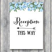 TH17-5×7-sign-reception-blue-bridal-wedding-shower