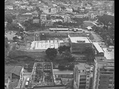 El C.A.M en construcción. Aixamar LópezFOTOS ANTIGUAS SANTIAGO DE CALI