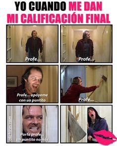 Meme okchicas cuando te entregan calificaciones finales