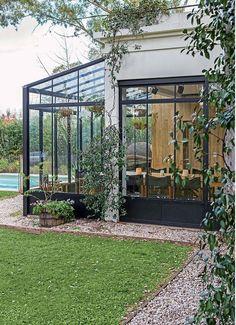Outdoor Spaces, Indoor Outdoor, Outdoor Living, Outdoor Landscaping, Outdoor Gardens, Patio Shade, Garden Pool, Get Outside, Garden Projects