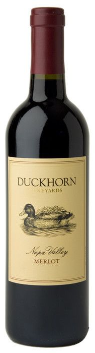 Duckhorn Napa Valley Merlot 2010. Aromas of Asian spice, red currant, plum and blueberry are supported by a subtle streak of earthiness. The palate is both velvety and balanced with flavours that echo the aromas. These flavours are held together by granular tannins and accented by oak-inspired notes of molasses and nougat.