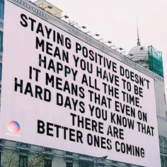 Motivation feel better positive doesnt mean happy Self Love Quotes, Cute Quotes, Happy Quotes, Quotes To Live By, Positive Quotes, Motivational Quotes, Inspirational Quotes, Hang In There Quotes, Thankful Quotes