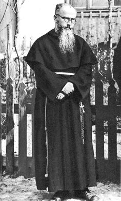 Maximilian Kolbe, who was recognized as a saint for volunteering to take the place of a fellow prisoner condemned to death in Auschwitz during WW2.