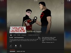 Save young justice aging keep it on Netflix ignore if you don't care spread the word