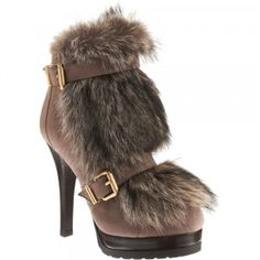 christian louboutin suede spiked round-toe boots
