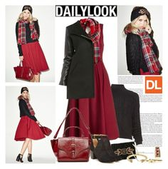 Baby, It's Cold Outside with Dailylook: Contest Entry by margaretferreira on Polyvore featuring polyvore, fashion, style, DailyLook, Finders Keepers, Report, Giles & Brother, Natalie B, Jenny Bird, Baldwin, clothing, ootd and Dailylook
