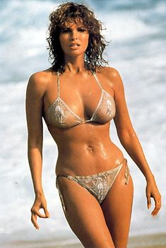 Remember when women were revered for real curves? Full bust, small waist, & curvy hips? My ideal bod to aim for: Raquel Welch