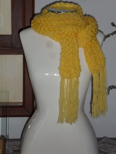 cachecol fio duplo (cisne bebê) em trico www.facebook.com/artesdairis