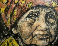 Old Gypsy Woman by Abraham Rattner