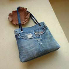 Džíska oškubaný recyDiesel recycled Diesel denim jeans